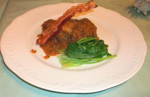 東京都練馬区平和台3丁目にあるレストラン「Grill Matsumoto グリルマツモト」仔牛のスネ肉煮込み