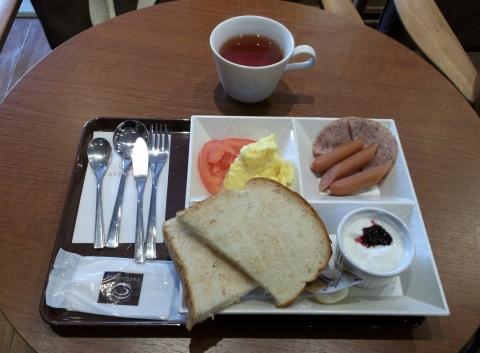 CAFE de CRIE カフェ・ド・クリエ せんげん台のよくばりモーニングプレート