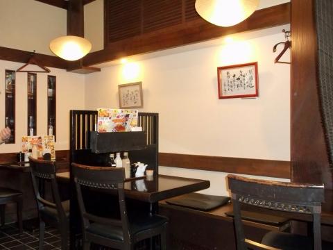 東京都練馬区東大泉1丁目にあるとんかつ店「とんかつ 多酒多彩 地蔵」店内
