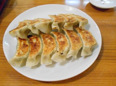 埼玉県川口市東内野にある中華料理店「豊来軒」餃子