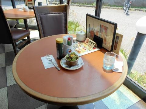 つくばエクスプレスの六町駅を最寄駅とする東京都足立区一ツ家2丁目にある喫茶店珈琲館足立一ツ家店の珈琲館のナポリタンランチセットのミニサラダ
