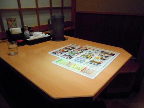 東京都練馬区光ヶ丘2丁目にある居酒屋「はなの舞 光が丘IMA公園通り店」店内