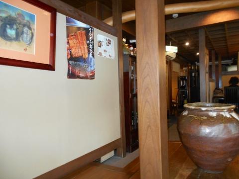 川越市松江町にあるうなぎ料理専門店「うなぎ いちのや 川越本店」店内