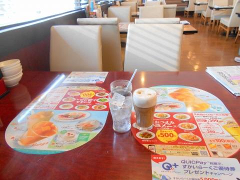 つくばエクスプレスの六町駅を最寄駅とする東京都足立区一ツ家2丁目にある中華料理ファミリーレストランのバーミヤン足立保塚店の店内