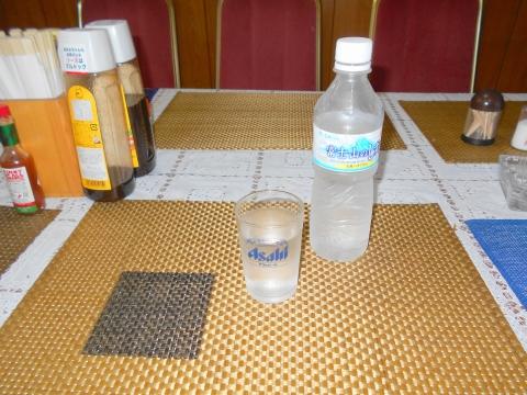 都営大江戸線光が丘駅とする埼玉県和光市白子1丁目にある橋本食堂のお水