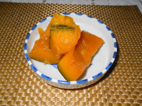 都営大江戸線光が丘駅とする埼玉県和光市白子1丁目にある橋本食堂のかぼちゃの煮つけ