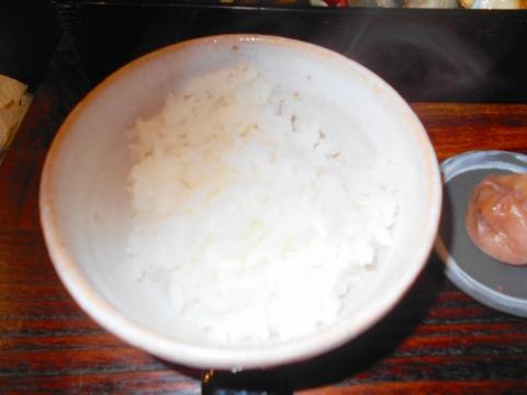 東京都練馬区東大泉5丁目にある和食のお店「小料理 石井」焼魚定食の御飯