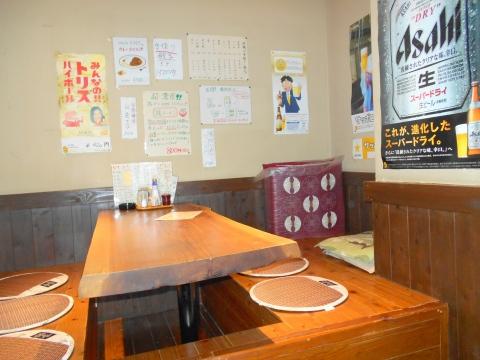 東京都練馬区東大泉1丁目にある焼鳥店「鳥よし 大泉店」店内