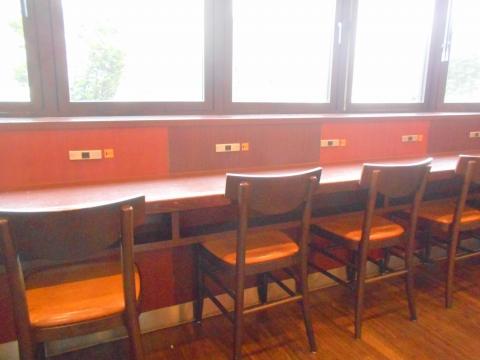 埼玉県さいたま市大宮区大門町にあるカフェ「PIER'S CAFE ピアーズカフェ 大宮店」店内
