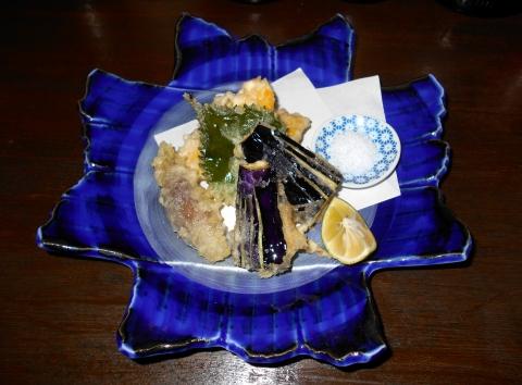 神奈川県川崎市中原区木月1丁目にある和食店「萱」天ぷら