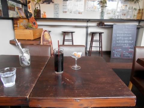 """""""つくばエクスプレスの六町駅近くの東京都足立区六町3丁目にあるイタリアンバーRestaurantBarMARKETのアイスコーヒー/"""