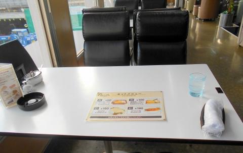東京都葛飾区西小岩1丁目にある喫茶店「喫茶室ルノアール 新小岩店」店内