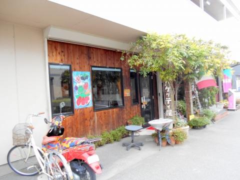 武スカイツリーラインの大袋駅近くの埼玉県越谷市下間久里にあるイタリアンのお店タントアリオの外観