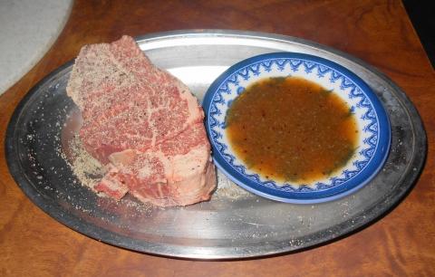 神奈川県相模原市南区相模台4丁目にある焼肉店「焼肉 はせ川」のヒレ肉