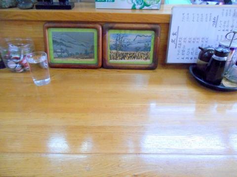 東武スカイツリーライン武里駅近くの埼玉県春日部市大場にある中華料理店天上天飯店のカウンター席
