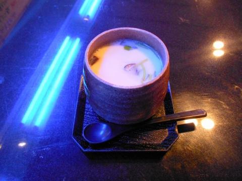 東武スカイツリーライン武里駅近くの埼玉県春日部市大場にある鮨店鮨処松葉本店の茶碗蒸し
