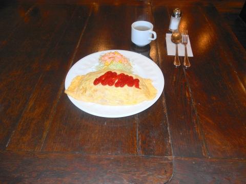 東京都板橋区大山町にあるカフェ、コーヒー専門店「Cafe Koizumi  カフェ・コイズミ」オムライス