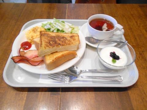 埼玉県さいたま市大宮区錦町にあるカフェと居酒屋のアメポテ大宮店のモーニングセット4
