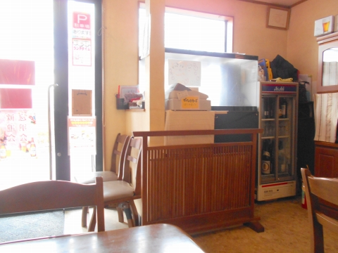 埼玉県越谷市大泊にある割烹料理店「割烹 佳瑞」店内