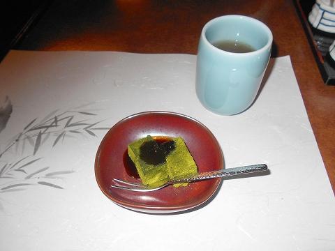 神奈川県川崎市川崎区東田町にある割烹、うなぎ料理店「割烹 蒲焼 大沼」四季弁当のデザート