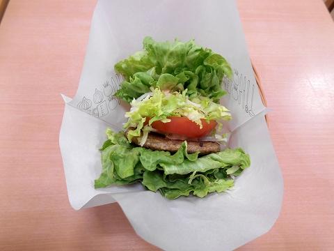 西武池袋線の練馬駅を最寄駅とする東京都練馬区練馬1丁目にあるハンバーガーファーストフードのモスバーガー練馬駅店の菜摘のモス野菜バーガー