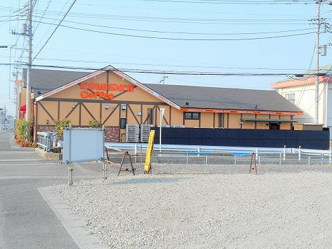 群馬県館林市富士見町にある喫茶店「コメダ珈琲 館林店」外観