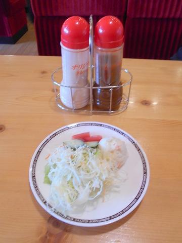 群馬県館林市富士見町にある喫茶店「コメダ珈琲 館林店」ミニサラダ