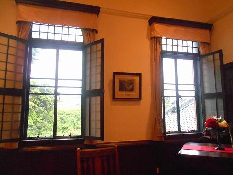 広島県広島市西区三滝町にある料亭「三瀧荘」食事をした部屋
