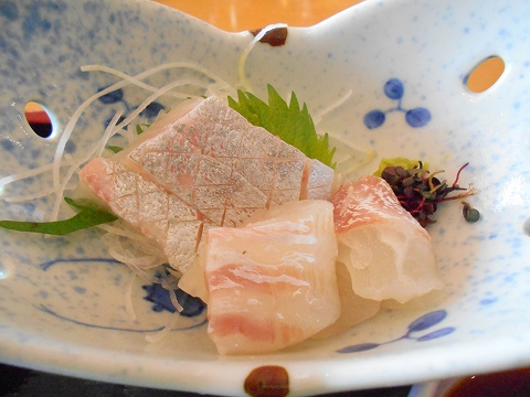 広島県呉市宝町にある和食のお店「椿庵」椿御膳の造り