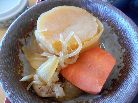 広島県呉市宝町にある和食のお店「椿庵」椿御膳の肉じゃが