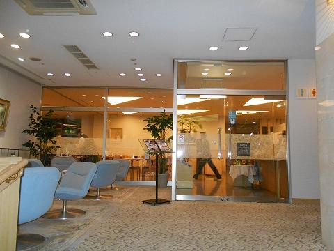 JR山陽本線の尾道駅を最寄駅とする広島県尾道市新浜1丁目尾道国際ホテル内にある洋食とレストランのラ・メールの外観