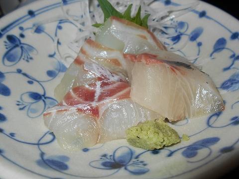 広島県福山市鞆町鞆にある魚介、海鮮料理のお店「鯛亭」鯛自慢 鯛のお造りのアップ