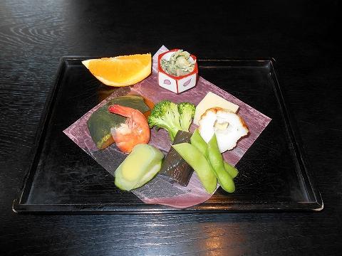 広島県福山市鞆町鞆にある魚介、海鮮料理のお店「鯛亭」鯛自慢 前菜
