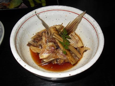 広島県福山市鞆町鞆にある魚介、海鮮料理のお店「鯛亭」鯛自慢 鯛のあら煮