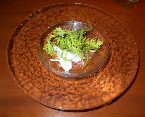 埼玉県さいたま市見沼区大和田にある中華料理、創作料理のお店「ASIAN FRENCH DINING 味市場 大和田本店」市場直送 お刺身サラダ仕立て