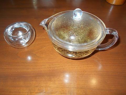 埼玉県さいたま市見沼区大和田にある中華料理、創作料理のお店「ASIAN FRENCH DINING 味市場 大和田本店」ジャスミン茶