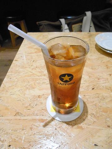 東京都墨田区横網1丁目にある鶏料理、居酒屋の「とり家ゑび寿 両国店」ウーロン茶