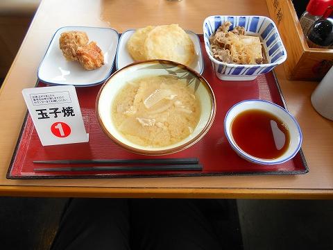 JR東海道本線の菊川駅を最寄駅とする静岡県菊川市加茂にあるまいどおおきに食堂遠州菊川食堂のこの日の昼食