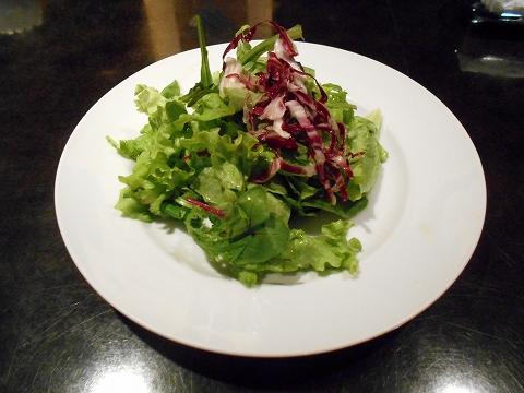 千葉県市川市市川1丁目にあるイタリア料理のお店「Sole ソーレ」オムライスセットのサラダ