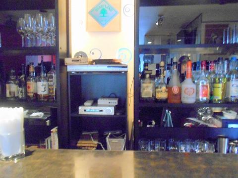 千葉県市川市市川1丁目にあるイタリア料理のお店「Sole ソーレ」店内