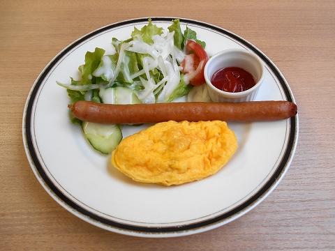 千葉県市川市市川1丁目にあるカフェ「Cafe de Riviere リヴィエール」モーニングメニュー