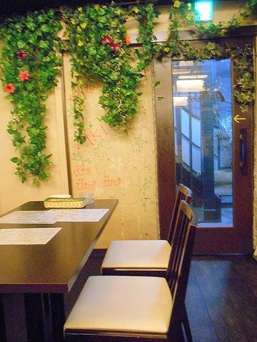東京都練馬区豊玉北5丁目にあるアジア、エスニック料理のお店「AkiTaka アキタカ」店内