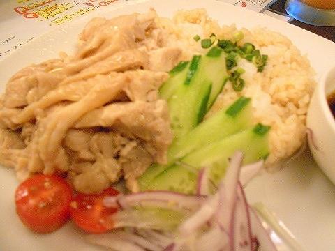 東京都練馬区豊玉北5丁目にあるアジア、エスニック料理のお店「AkiTaka アキタカ」海南鶏飯