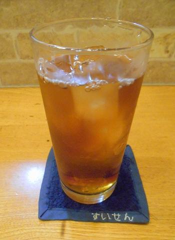 神奈川県川崎市中原区木月2丁目にある居酒屋「粹い仙ん」ウーロン茶