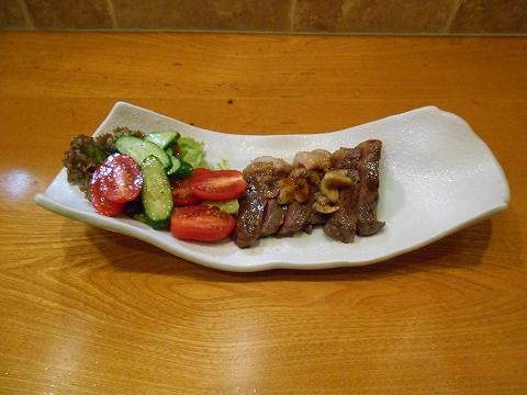 神奈川県川崎市中原区木月2丁目にある居酒屋「粹い仙ん」和牛ステーキ