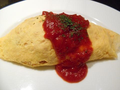 千葉県市川市市川1丁目にあるイタリア料理のお店「Sole ソーレ」オムライスセットのオムライス