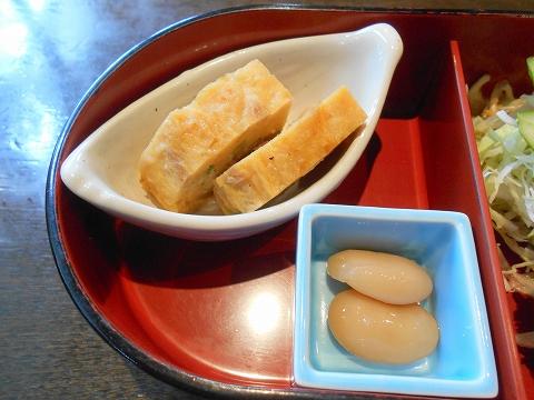 茨城県古河市関戸にあるイタリア料理のお店「いたりあ食堂 灯り家」ちょっと豪華にお弁当ランチの玉子焼き