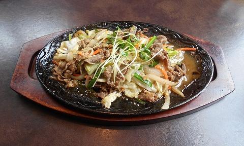埼玉県所沢市北中1丁目にある韓国料理、焼肉のお店「Asian dining TAMMI タンミ」鉄板プルコギ