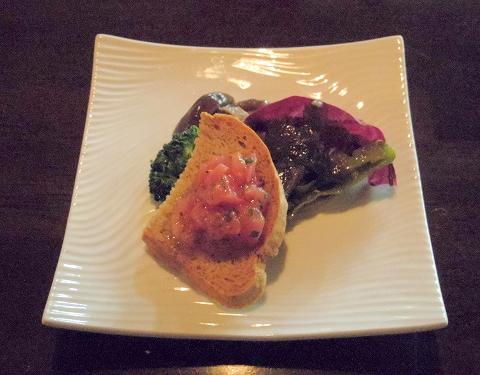 埼玉県所沢市若狭にあるイタリア料理のお店「PIZZERIA 武蔵野山居」小さな前菜盛り合わせ