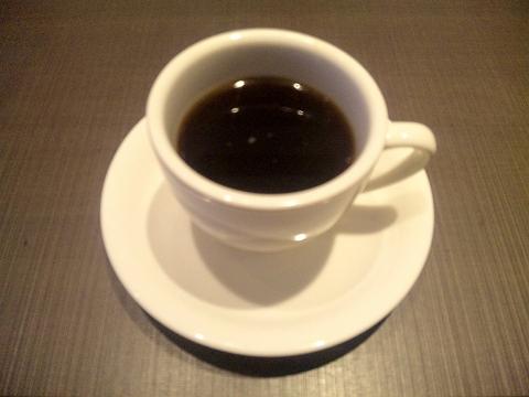 埼玉県所沢市北中1丁目にある和食、しゃぶしゃぶのお店「ゆず庵 所沢店」秋のゆず庵松花堂ランチのホットコーヒー